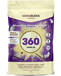 VOIMARUOKA 360 VANILJA SUPERFOOD 908G