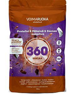 VOIMARUOKA 360 SUKLAA SUPERFOOD 908G