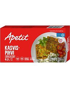PAKASTE APETIT KASVISPIHVI 4KPL 240G