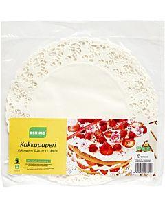 ESKIMO KAKKUPAPERI 29CM PYÖREÄ 15KPL
