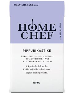 HOME CHEF PIPPURIKASTIKE 250ML