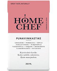 HOME CHEF PUNAVIINIKASTIKE 250ML