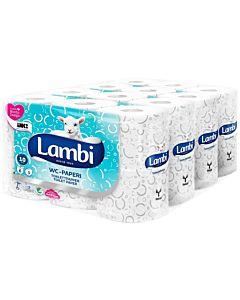 LAMBI WC-PAPERI  KUVIOITU 4X6RLL SÄKKI