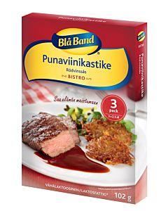 BLÅ BAND PUNAVIINIKASTIKE SÄÄSTÖPAKKAUS 3X35G