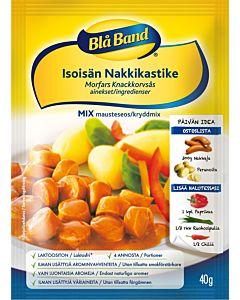 BLÅ BAND MIX ISOISÄN NAKKIKASTIKE 40G