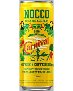 NOCCO BCAA CARNIVAL 330ML