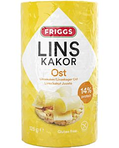 FRIGGS  LINSSIKAKKU JUUSTO 125G
