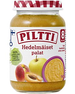 PILTTI HEDELMÄISET PALAT 190G 8KK