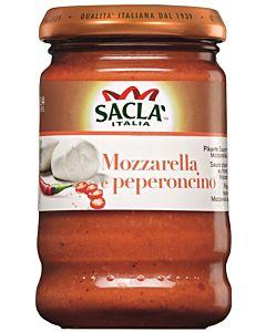 SACLA 190G CHILI & MOZZARELLA PESTOKASTIKE