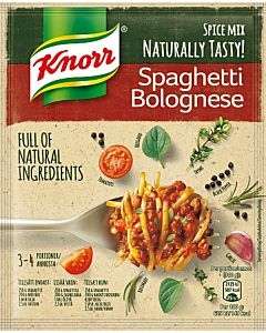 KNORR 43G SPAGHETTI BOLOGNESE ATERIA-AINES