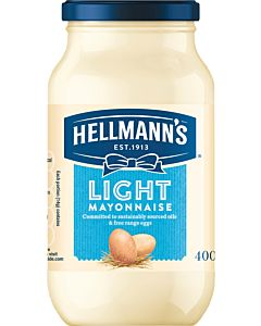 HELLMANNS LIGHT MAJONEESI 400G