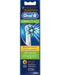 ORAL-B 4KPL CROSS ACTION VAIHTOHARJA