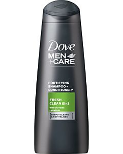 DOVE MEN+CARE 250ML FRESH CLEAN 2IN1 SHAMPOO