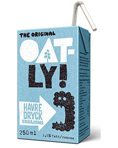 OATLY KAURAJUOMA 250ML KALSIUMIA