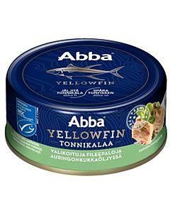 ABBA YELLWFIN TONNIKALAA ÖLJYSSÄ MSC 150/105G