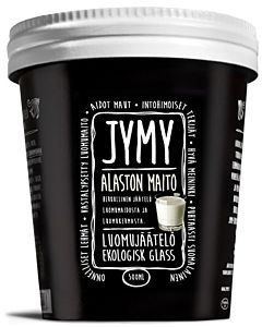 PAKASTE JYMY SUOMALAINEN LUOMUJÄÄTELÖ ALASTON MAITO 500ML