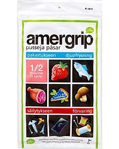 AMERGRIP 25KPL/0,5L GREEN PE PUSSI