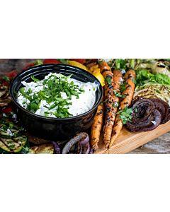 Resepti-Grillatut kesävihannekset ja juustodippi