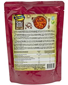 BLÅ BAND OUTDOOR MEAL CHILI SIN CARNE KIDNEYPAVUILLA 430G
