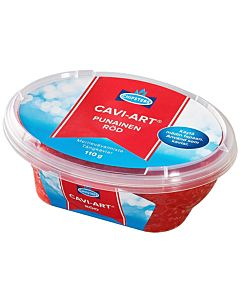 CHIPSTERS CAVI-ART PUNAINEN 110G