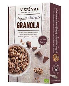 KELLOGG'S VERIVAL ORGANIC CHOCOLATE GRANOLA 375G LUOMU