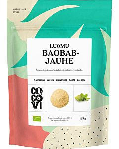 COCOVI LUOMU BAOBAB-JAUHE 165G