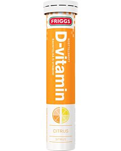 FRIGGS D-VITAMIINI SITRUS PORETABLETTI 20KPL