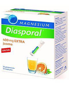 DIASPORAL MAGNESIUM 400MG EXTRA ANNOSPUSSI 20KPL/126G