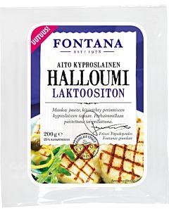 FONTANA HALLOUMI 200G LAKTOOSITON