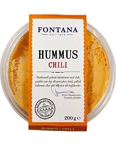 FONTANA HUMMUS CHILI 200G