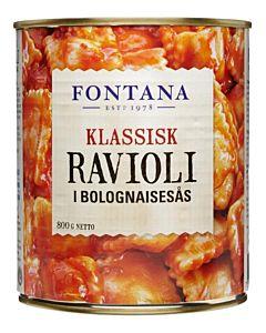 FONTANA RAVIOLI BOLOGNESEKASTIKE 800G