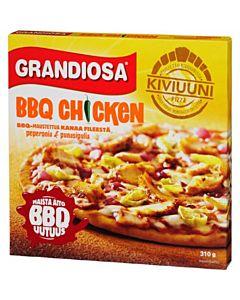 PAKASTE GRANDIOSA BBQ CHICKEN KIVIUUNIPIZZA 310G