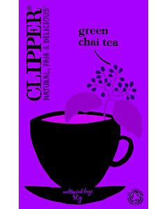 CLIPPER LUOMU GREEN CHAI-TEE 20PSS/ 30G