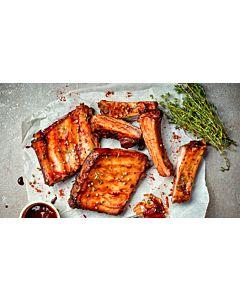 Resepti-Grilliribsit BBQ-kastikkeella
