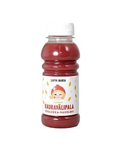 LAPIN MARIA LUOMU KAURAVÄLIPALAJUOMA PUOLUKKA-VADELMA 250ML