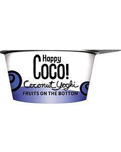 HAPPY COCO LUOMU KERROSVÄLIPALA MARJA-ACAI 125G