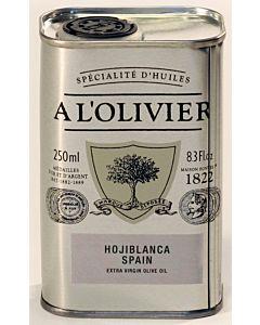 A L'OLIVIER OLIIVIÖLJY EXTRA VIRGIN ARBEQUINA 250ML