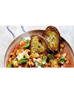 Resepti-Italialainen tomaatti-kana-leipäkeitto
