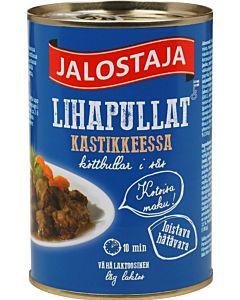 JALOSTAJA 400G LIHAPULLAT KASTIKKEESSA
