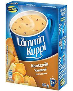BLÅ BAND LÄMMIN KUPPI KANTTARELLIKEITTO 3X20,7G