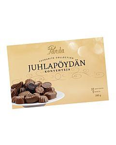 PANDA JUHLAPÖYDÄN SUKLAAKONVEHTI 300G