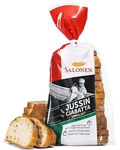 SALONEN JUSSIN CIABATTA VIIPALALEET 400G