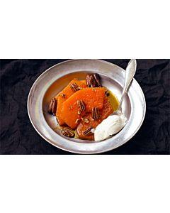 Resepti-Karamellisoitua kurpitsaa