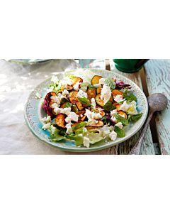 Resepti-Grillattu kesäkurpitsasalaatti