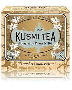 KUSMI TEA BOUQUET Nº108 MUSTA PUSSITEE 20KPL