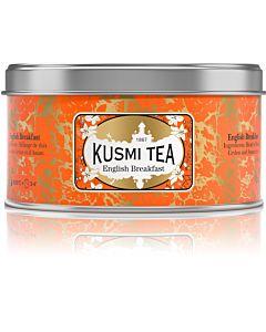 KUSMI TEA ENGLISH BREAKFAST MUSTA IRTOTEE 125G