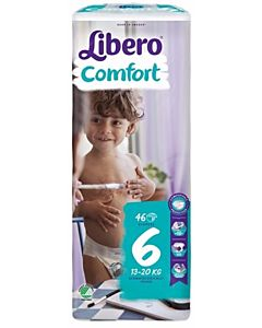 LIBERO COMFORT TEIPPIVAIPPA KOKO 6 (13-20 KG) 46KPL
