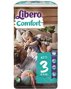 LIBERO COMFORT TEIPPIVAIPPA KOKO 3 (5-9 KG) 62KPL
