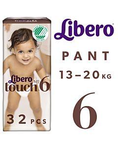 LIBERO TOUCH HOUSUVAIPPA KOKO 6 (13-20KG) 32KPL