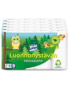 LOTUS LUONNONYSTÄVÄN TALOUSPYYHE 5X4 RULLAA SÄKKI